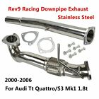 Stainless Steel Pipe Exhaust For 00-06 Audi Tt Quattro S3 Mk1 Typ 8l 1.8t