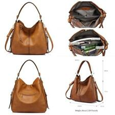Large Hobo Handbags Leather Women'S Bag Perfect Vintage Slouchy Purse Shoulder F