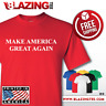DONALD TRUMP President T Shirt Make America Great Again! Pro USA Conservative