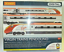 HORNBY R2467X VIRGIN TRAINS PENDOLINO SET DCC FITTED - TILTING ACTION - LIGHTS