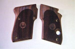Beretta Tomcat 3032 Bobcat 21A Factory Checkered Walnut Grips 32 25 22LR pistols