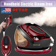 1300W Powerful Steam Iron Clothes Ironing Handheld Cordless Garment Steamer USA