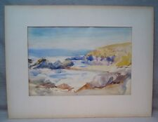 Myron Nutting Listed S. California Watercolor Painting Modernist/Impressionist