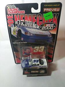 Nascar Joe Nemechek Nascar 2000 Collectible Racing Champions 1:64 Diecast Car!