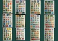 Stamp Collection Netherlands Ned-Indie Curacao Dutch Antilles Switzerland & US