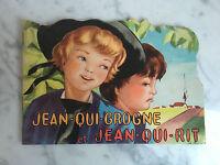 Jean-Qui-Grogne Y John-que-Risas N º 123 Colección Bower 1961