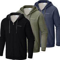 "New Mens Columbia ""Hart Mountain"" Full Zip Hoodie Sweaters Jacket"