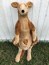 "Super Cute! Melissa & Doug Kangaroo Joey 36"" Plush Stuffed Animal #2120 RARE!"