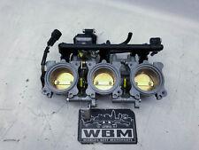Triumph Street Triple R 675 (3) 10' Throttle bodies body Carbs Carburettor Einsp