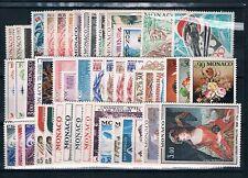 MONACO - Timbres Année 1972 N° 867 à 915 Neufs**