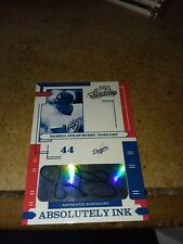 darryl strawberry absolutely ink autograph    pack  pulled