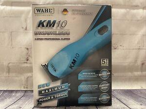 Wahl Professional Animal KM10 2 Speed Brushless Motor Clipper Kit #1621 Groomer