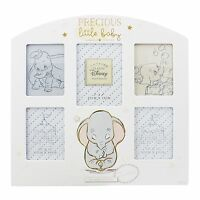 Disney Dumbo Precious Little Baby Multi Photo Frame NEW in Gift Box -