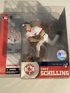 McFarlane 2004 Curt Schilling Boston Red Sox MLB Series 10
