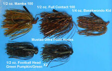 Bass Jigs Assorted Fishing (5)