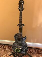 limited edition epiphone les paul monster energy drink electric guitar