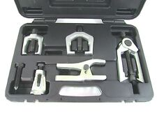 5pc Heavy Duty Front End Service Kit With Carrying Case Pitman Arm Ball Joints