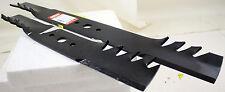 """38"""" Oregon Gator Mulch Lawnmower Blade Set (2) Simplicity 1704856 1704101"""