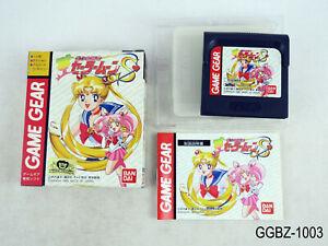 Complete Sailor Moon S Sega Game Gear Japanese Import Boxed CIB JP US Seller