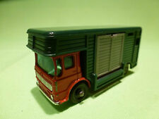LESNEY 17 TRUCK HORSE BOX  - ERGOMATIC CAB - VERY GOOD CONDITION