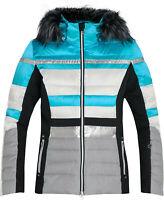 McKinley Damen Snowboard- / Skijacke Safine Diliana blau weiß