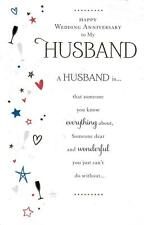 Husband Anniversary Card - A Husband Is. -  Stunning Anniversary Card