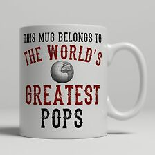 Pops World's Greatest best Birthday idea Christmas Gift present Tea Coffee Mug