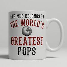 Pops World's Greatest best Birthday idea Christmas Gift present Tea Coffee Mug