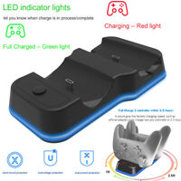 Dual USB Charger for Nintendo Switch Pro Controller Charging Dock Station
