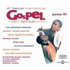 VARIOUS ARTISTS - 4TH FESTIVAL DE GOSPEL DE PARIS 1997- CD SIMPLE NEW CD