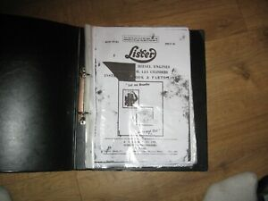 COPY OF LISTER HAND BOOK/MANUAL