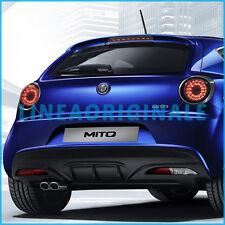 Dam sotto paraurti MiTo Veloce ORIGINALE Alfa Romeo MY2016 posteriore con fori
