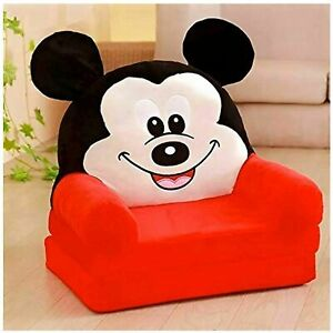 Baby's Chair, Sofa Cum Bed (Red, 0-2years)