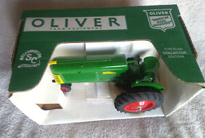 1992 SpecCast 1/16 Oliver 66 Row Crop Collector Edition  Budweiser Nationals