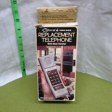 Cobra mini-size Replacement Telephone in original box '80s Dynascan model Wp-142