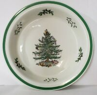 """Collectible Spode Christmas Tree Oven to Table 10.5"""" Round Pie Plate Baking Dish"""