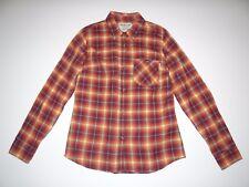 New Burton Womens Grace Long Sleeve Flannel Button Up Woven Shirt Small