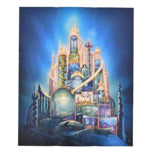 The Little Mermaid Notebook Castle Disney Castle Collection