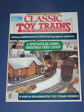 CLASSIC TOY TRAINS MAGAZINE-WINTER 1989
