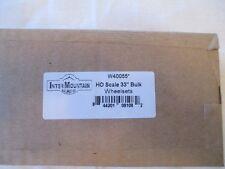 "InterMountain HO W40055 33"" All Brass Wheelsets - Bulk 100 Pack"
