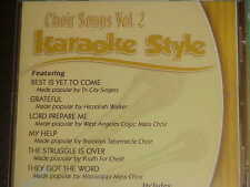 Choir Songs~#2 ~ Christian ~Daywind ~Karaoke Style ~~ Best is Yet to Come ~ CD+G