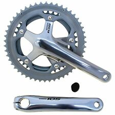 SHIMANO 105 DOUBLE CHAINWHEEL SET 53/39T 175mm CRANK NEW FC5600EX3 SILVER