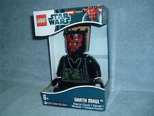 DARTH MAUL Digital Alarm Clock LEGO Star Wars Sith Lord Mini Fig 9005596 New