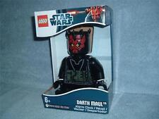 DARTH MAUL Digital Alarm Clock LEGO Star Wars Sith Lord Mini Fig 9005596 New