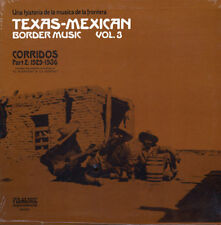 Tex-Mex Border Music Vol.3 SEALED Folklyric 9005 LP Corridos 1929-36