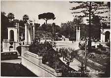 CATANIA - GIARDINO BELLINI 1961