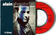 """ALAIN CHAMFORT - SOURIS PUISQUE C'EST GRAVE - MINI CD 3"""" - REMIX 5'27 - RARE"""