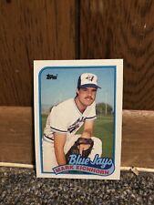 Topps 1989 Baseball Card Mark Eichhorn Toronto Blue Jays #274