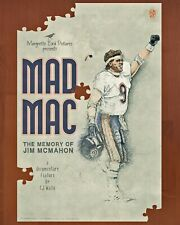 JIM McMAHON Documentary - Promotional Movie Poster 24 X 36 (SBXX '85 Bears)