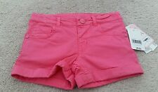 Pink shorts age 3-4. adjustable waist. from mothercare. New with tags